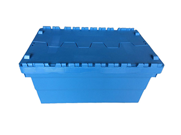 hinged lid storage bins